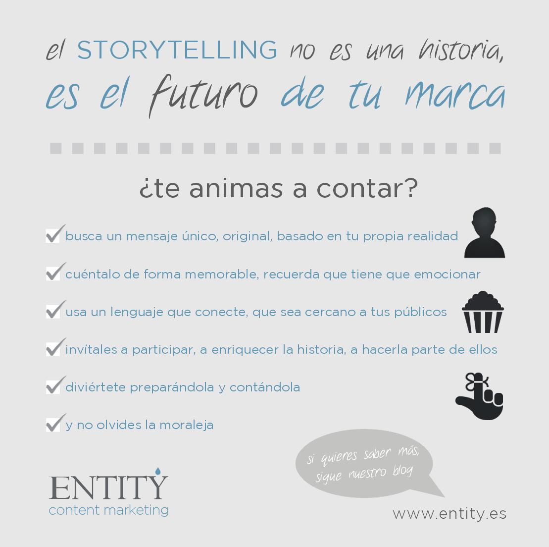 el storytelling es el futuro de tu marca